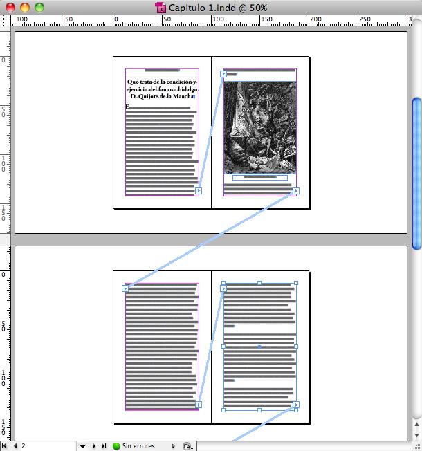 Figura 1. Todo el texto, imágenes y leyendas de este libro pertenecen a un único flujo de texto.