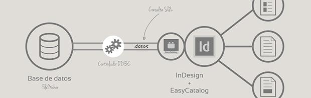 Conectar EasyCatalog a una base de datos ODBC