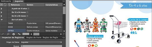 Creación automatizada de un catálogo de juguestes con EasyCatalog