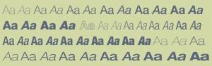 Familia tipográfica Helvetica Neue LT Std